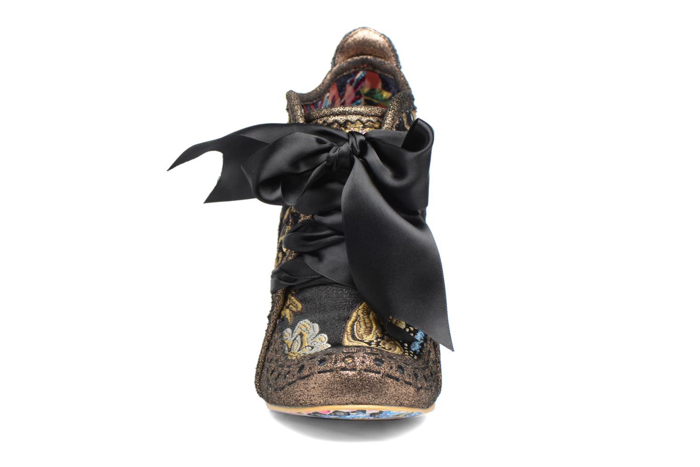 Chaussures à lacets Irregular Choice Abigail's Third Party Or et bronze vue portées chaussures