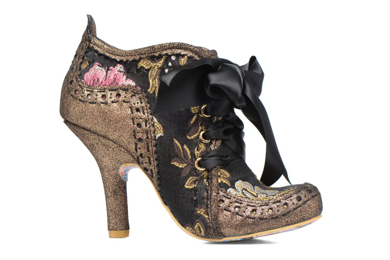 Chaussures à lacets Irregular Choice Abigail's Third Party Or et bronze vue derrière