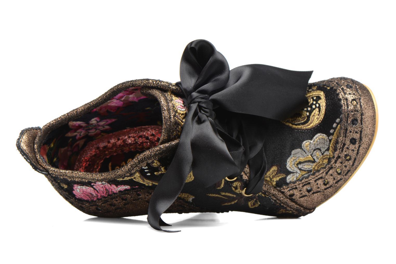 Chaussures à lacets Irregular Choice Abigail's Third Party Or et bronze vue gauche