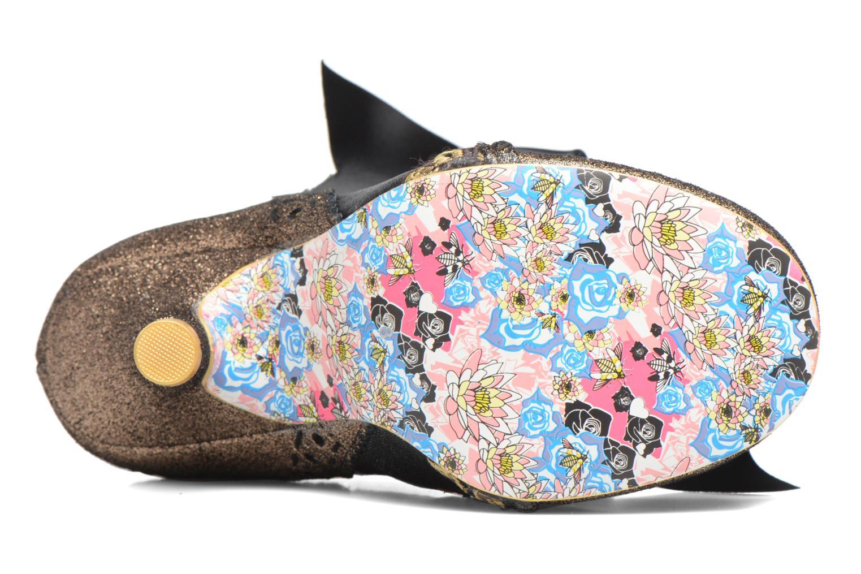 Chaussures à lacets Irregular Choice Abigail's Third Party Or et bronze vue haut