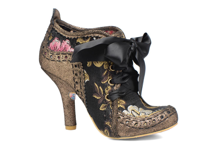 Chaussures à lacets Irregular Choice Abigail's Third Party Or et bronze vue détail/paire