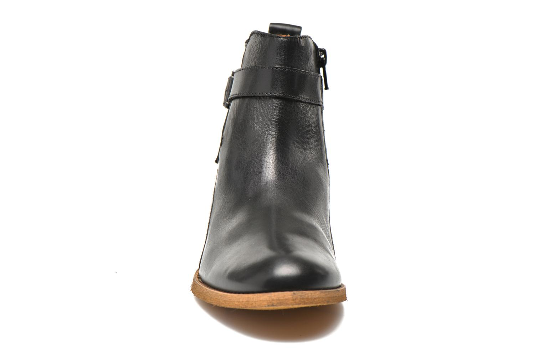 Bottines et boots Georgia Rose Colery Noir vue portées chaussures