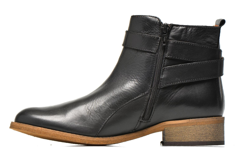Bottines et boots Georgia Rose Colery Noir vue face