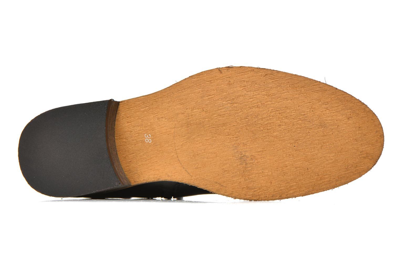 Bottines et boots Georgia Rose Colery Noir vue haut