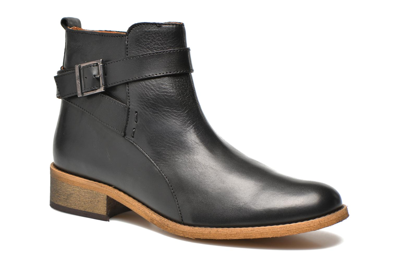 Bottines et boots Georgia Rose Colery Noir vue détail/paire