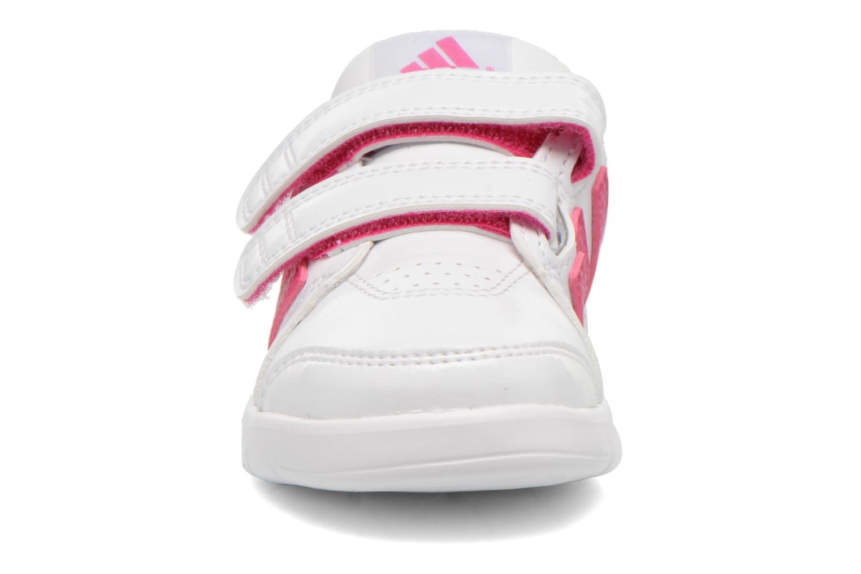 Chaussures de sport Adidas Performance LK Trainer 7 CF I Blanc vue portées chaussures
