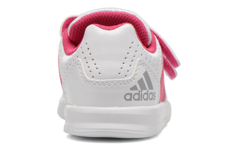Chaussures de sport Adidas Performance LK Trainer 7 CF I Blanc vue droite