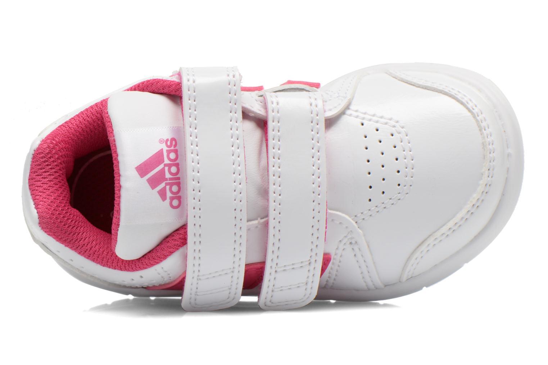 Sportschuhe Adidas Performance LK Trainer 7 CF I weiß ansicht von links