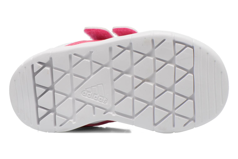 Chaussures de sport Adidas Performance LK Trainer 7 CF I Blanc vue haut