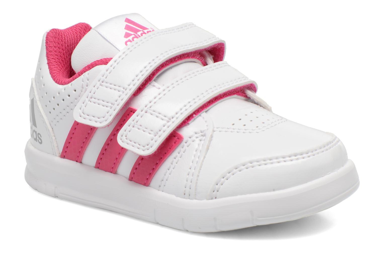 Chaussures de sport Adidas Performance LK Trainer 7 CF I Blanc vue détail/paire