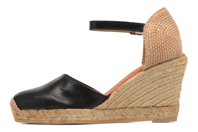 Sandales et nu-pieds Georgia Rose Iponiki Noir vue face