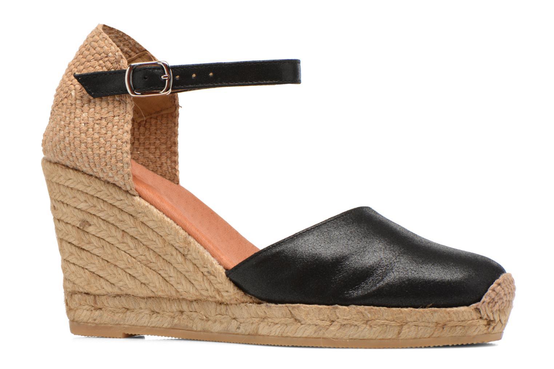 Sandales et nu-pieds Georgia Rose Iponiki Noir vue derrière