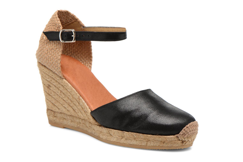 Sandales et nu-pieds Georgia Rose Iponiki Noir vue détail/paire