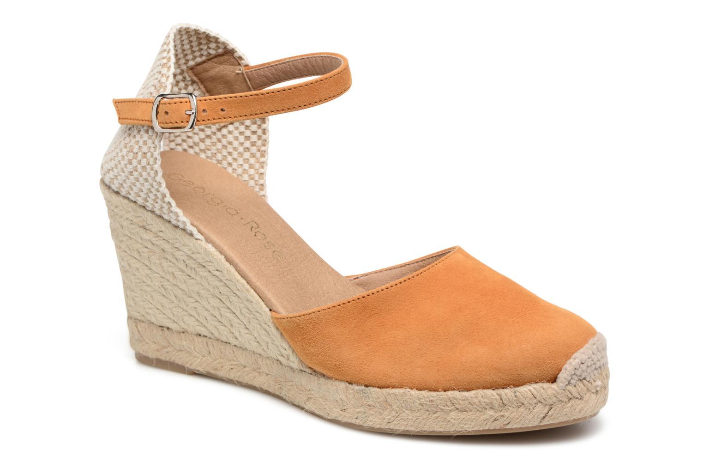 Sandales et nu-pieds Georgia Rose Iponiki Marron vue détail/paire