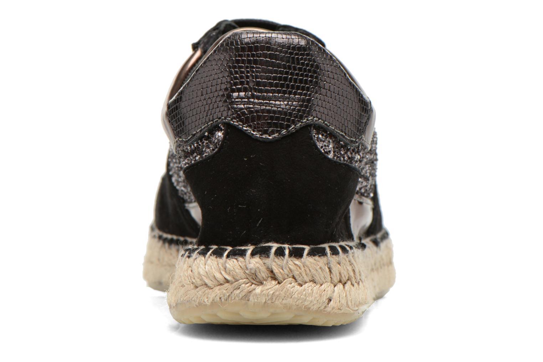 Baskets Georgia Rose Irmett Noir vue droite