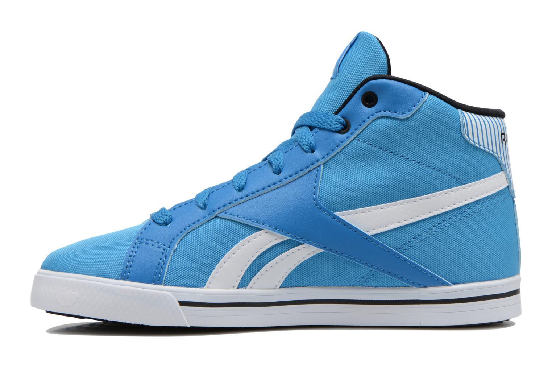 Baskets Reebok Reebok Royal Comp Mid Cvs Bleu vue face