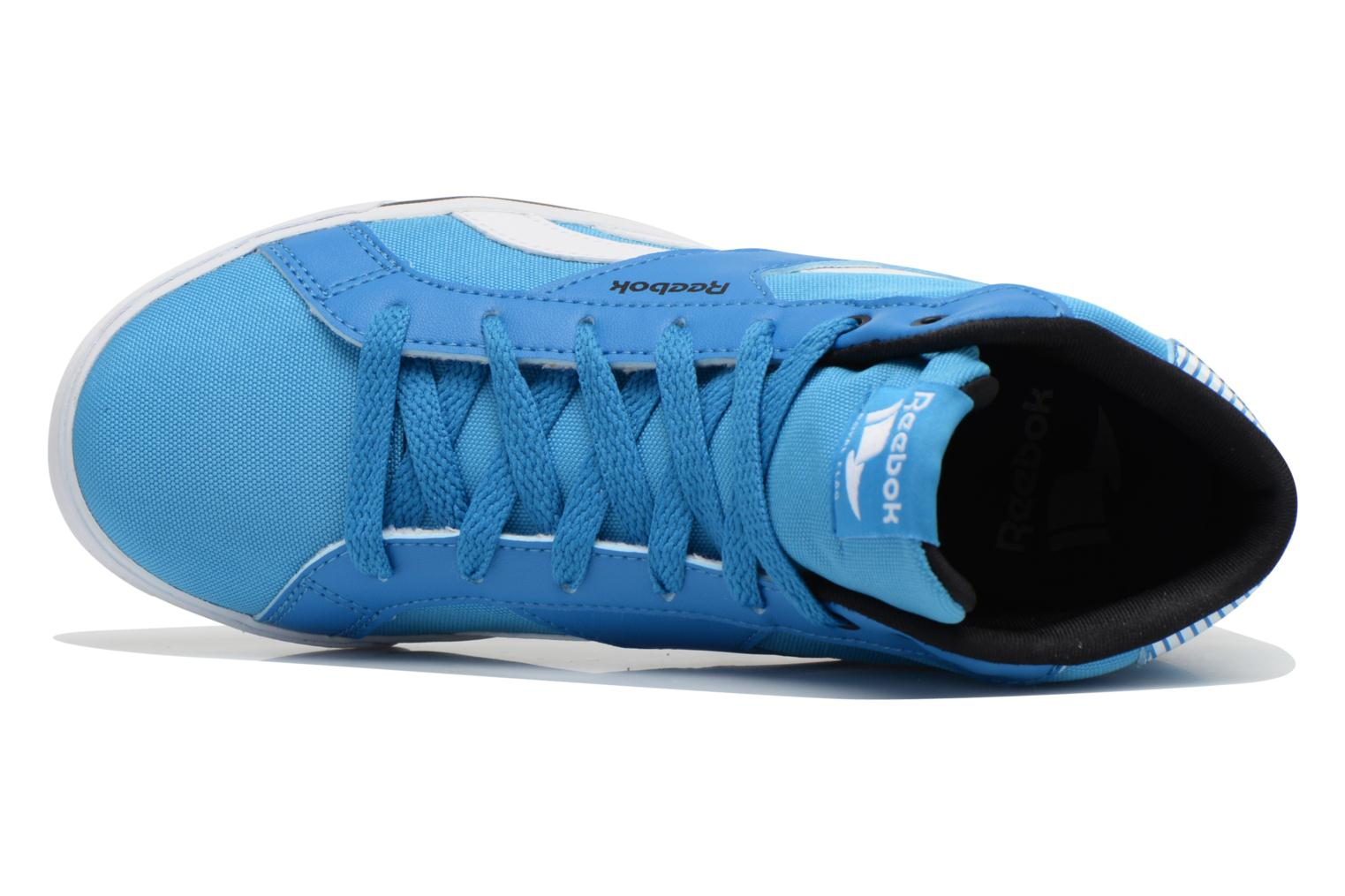 Baskets Reebok Reebok Royal Comp Mid Cvs Bleu vue gauche