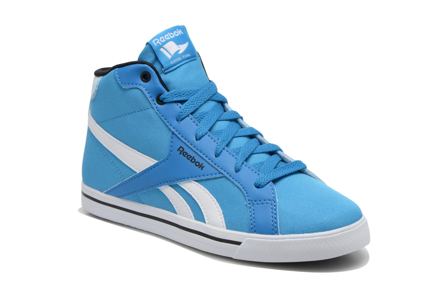 Baskets Reebok Reebok Royal Comp Mid Cvs Bleu vue détail/paire