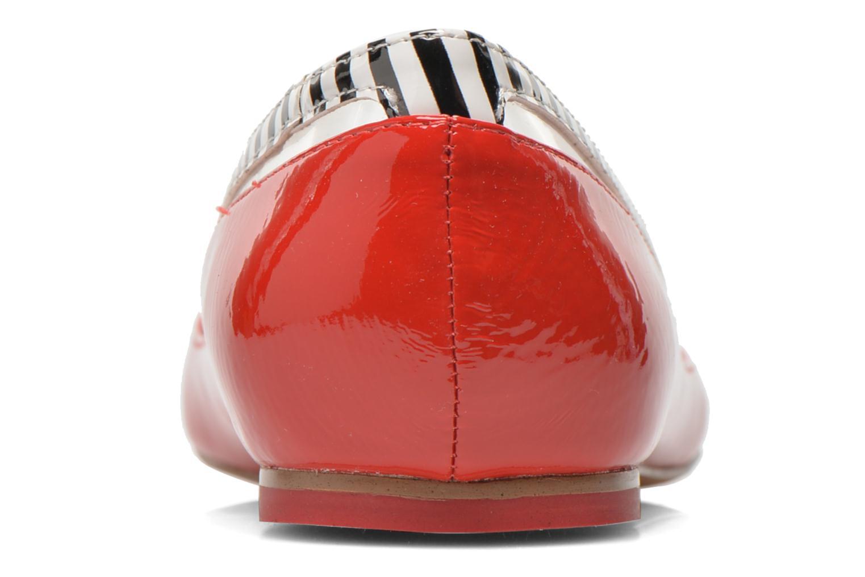 Ballerines Coca-cola shoes Heart Rouge vue droite