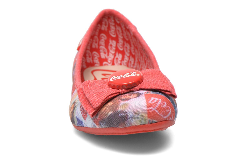 Ballet pumps Coca-cola shoes Tampinas Multicolor model view