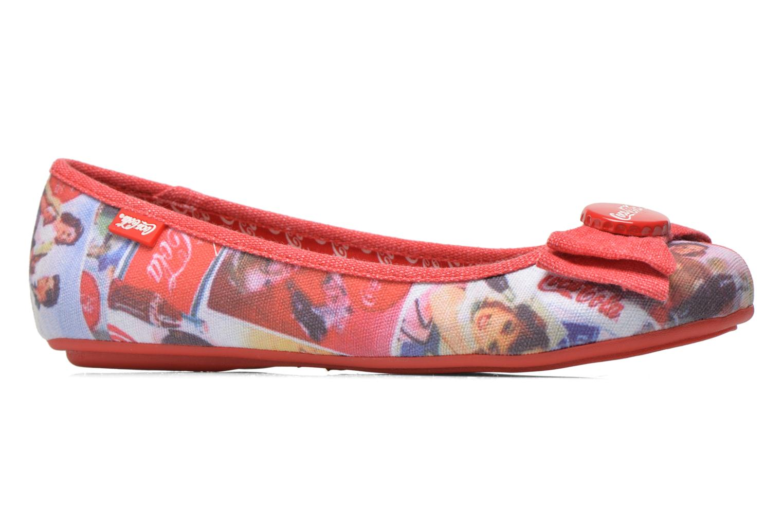 Ballerina's Coca-cola shoes Tampinas Multicolor achterkant