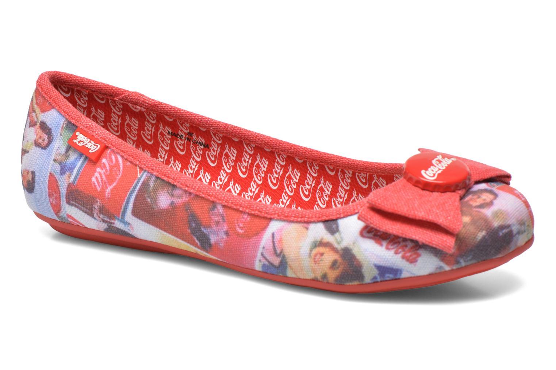 Ballerina's Coca-cola shoes Tampinas Multicolor detail