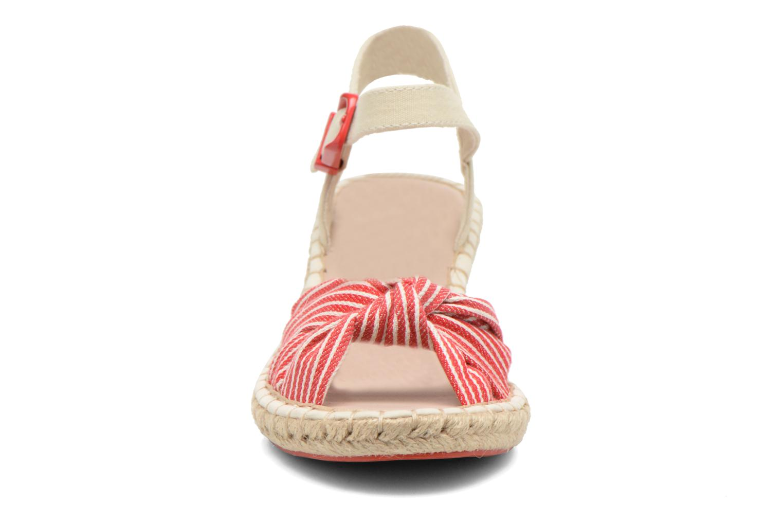 Sandales et nu-pieds Coca-cola shoes City Line Rouge vue portées chaussures
