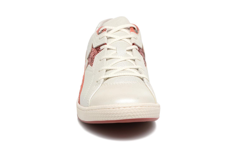 Baskets Pataugas Joia Gris vue portées chaussures