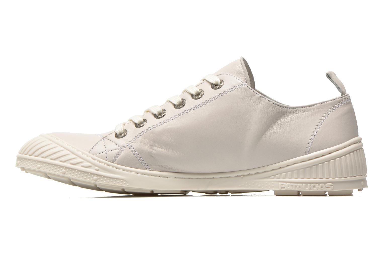 Sneaker Pataugas RockN weiß ansicht von vorne