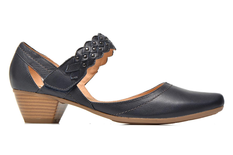 Zapatos de tacón Sweet Dizaya Azul vistra trasera