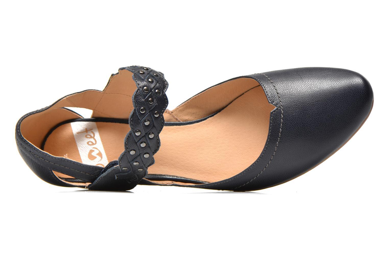 Zapatos de tacón Sweet Dizaya Azul vista lateral izquierda