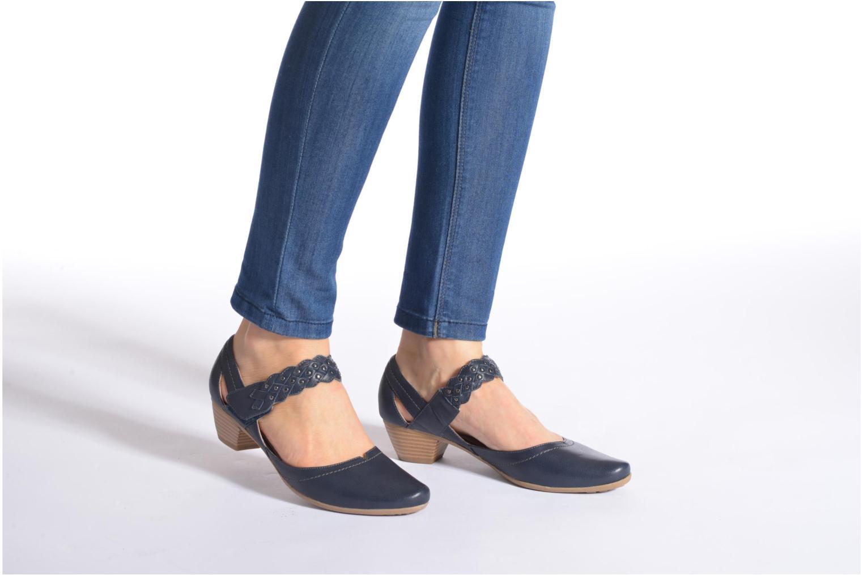 High heels Sweet Dizaya Beige view from underneath / model view