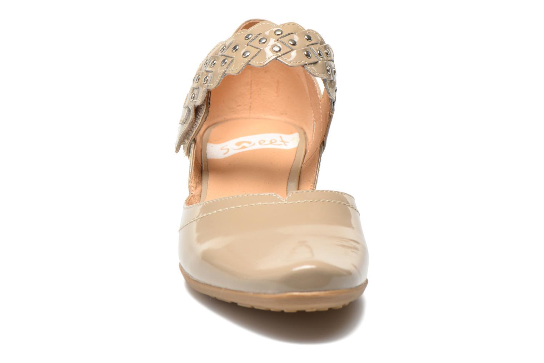 High heels Sweet Dizaya Beige model view