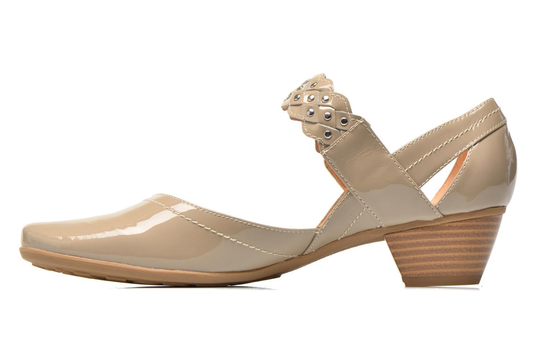 High heels Sweet Dizaya Beige front view