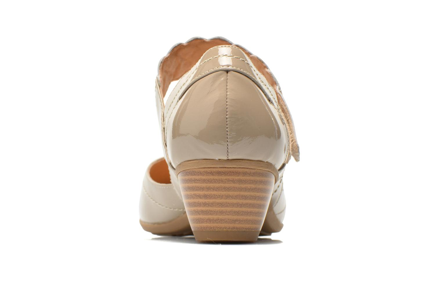 High heels Sweet Dizaya Beige view from the right