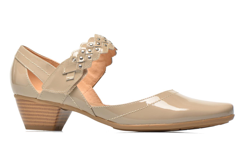 High heels Sweet Dizaya Beige back view