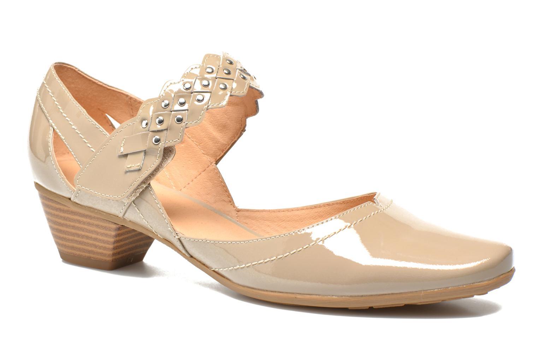High heels Sweet Dizaya Beige detailed view/ Pair view