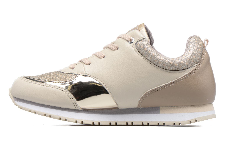 Sneakers Guess Reeta Beige voorkant