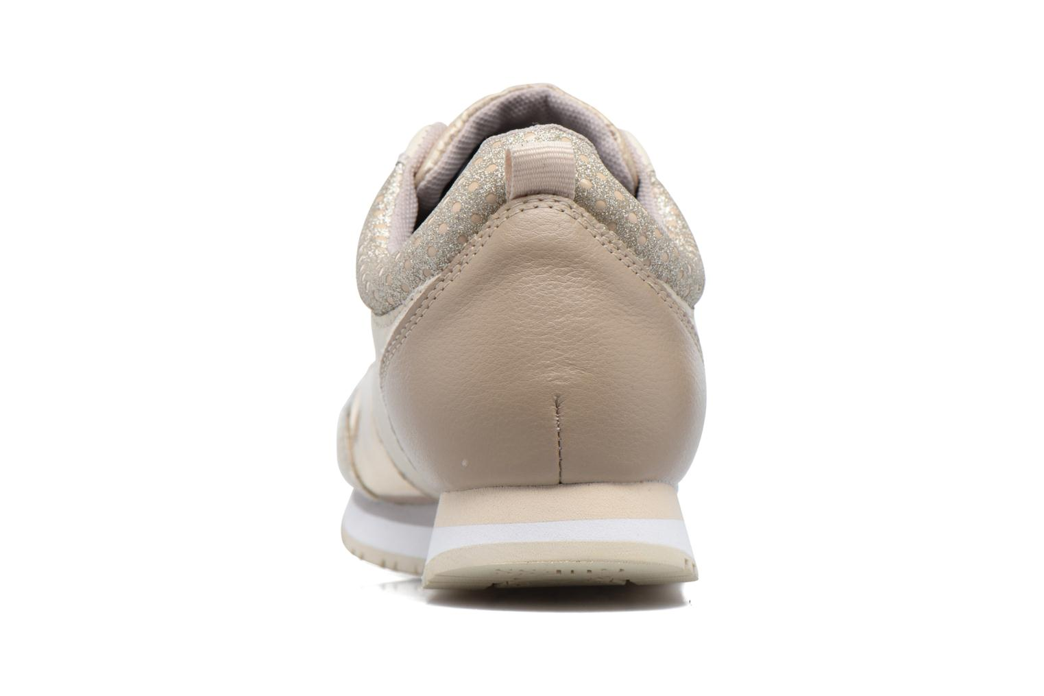 Trainers Guess Reeta Beige view from the right