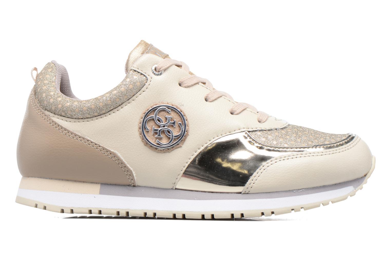 Sneakers Guess Reeta Beige bild från baksidan