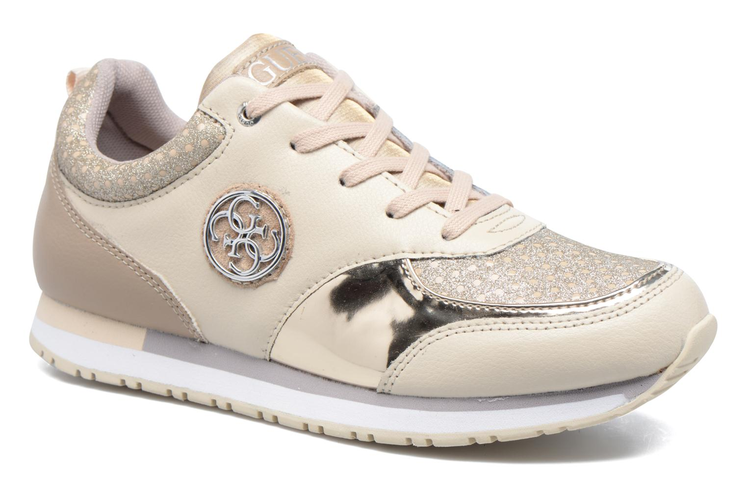 Trainers Guess Reeta Beige detailed view/ Pair view