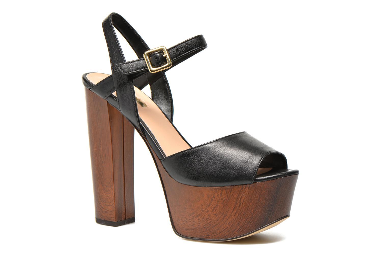 Zapatos promocionales Guess Teren3 (Negro) - Sandalias   Descuento de la marca