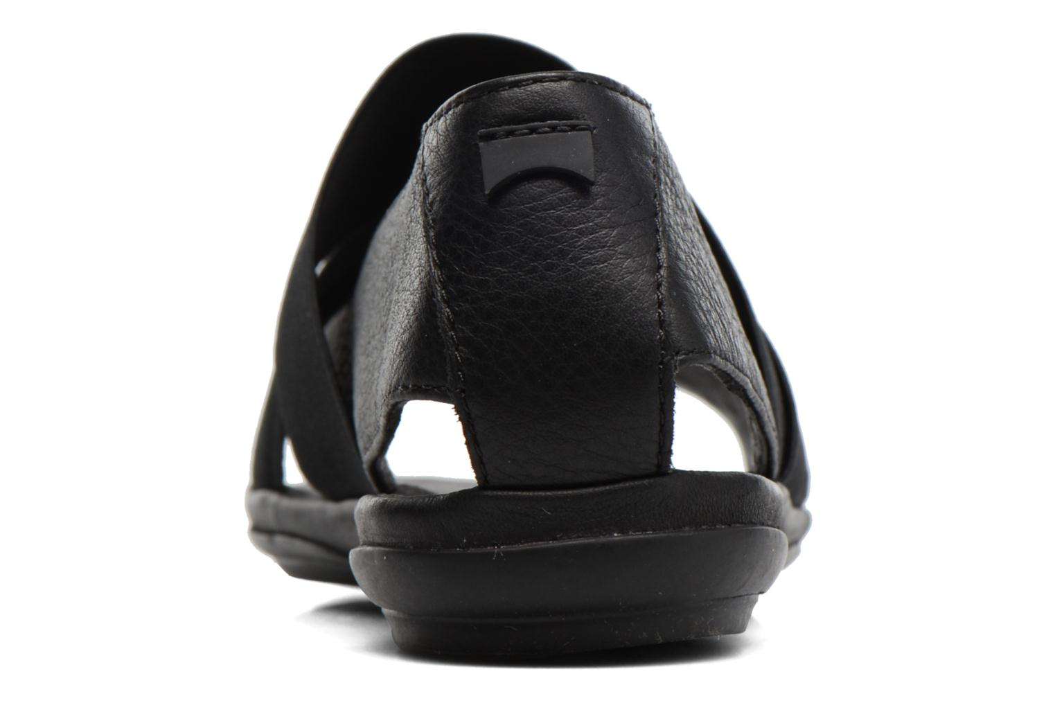 Sandals Camper Right Nina K200142 Black view from the right