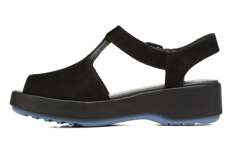 Sandalen Camper Dessa K200083 schwarz ansicht von vorne