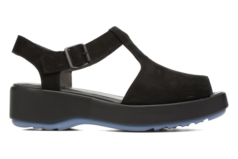 Sandalen Camper Dessa K200083 schwarz ansicht von hinten