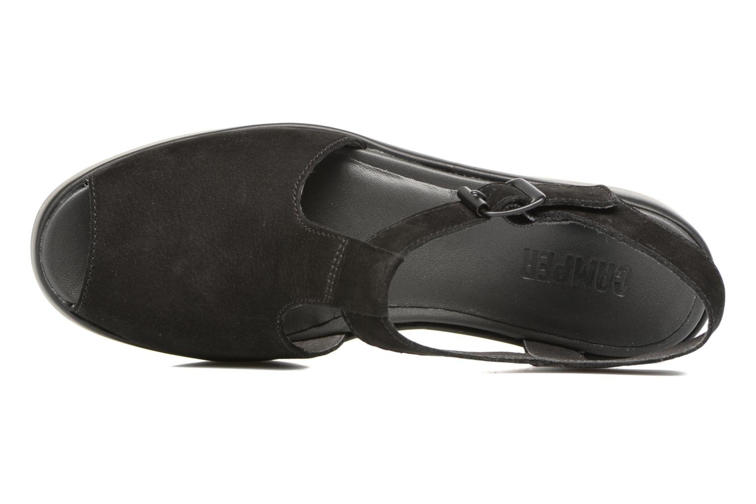 Sandals Camper Dessa K200083 Black view from the left