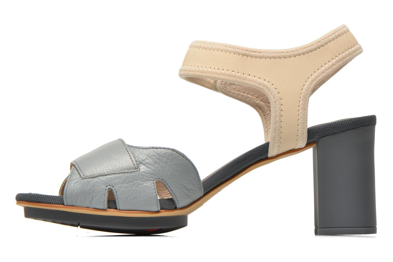 Sandales et nu-pieds Camper Myriam 22534 Gris vue face