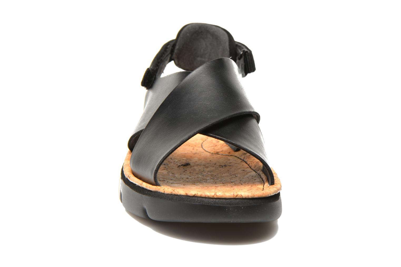 Sandales et nu-pieds Camper Oruga K200157 Noir vue portées chaussures