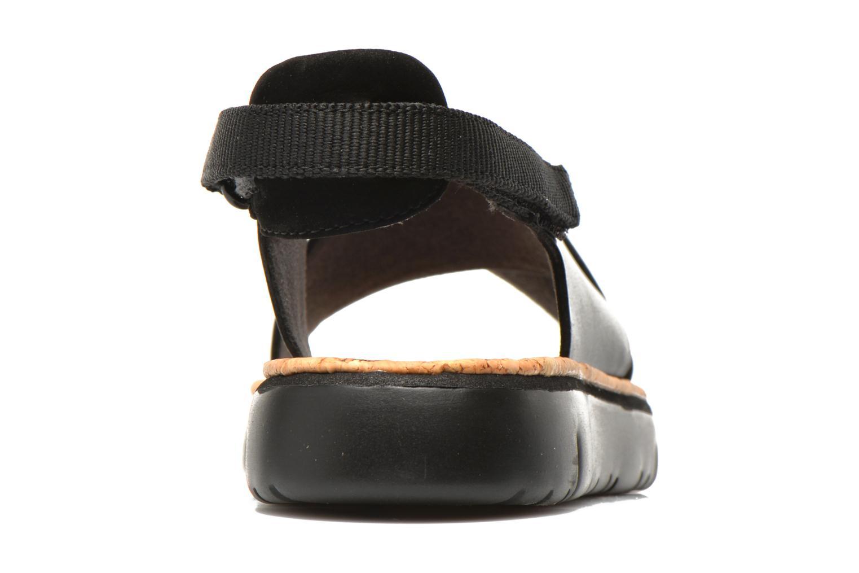 Sandales et nu-pieds Camper Oruga K200157 Noir vue droite