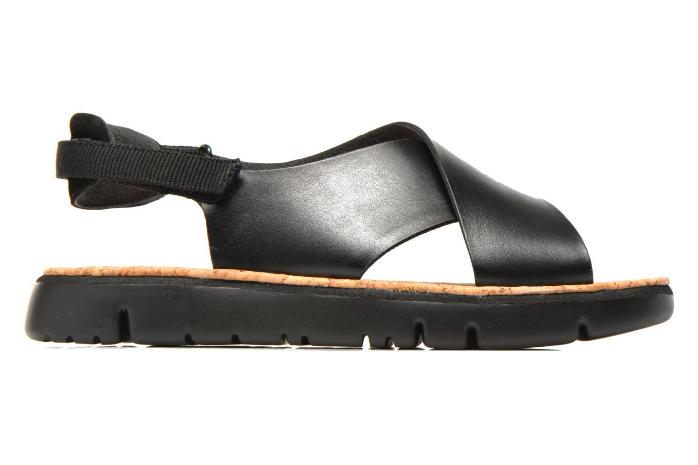 Sandales et nu-pieds Camper Oruga K200157 Noir vue derrière